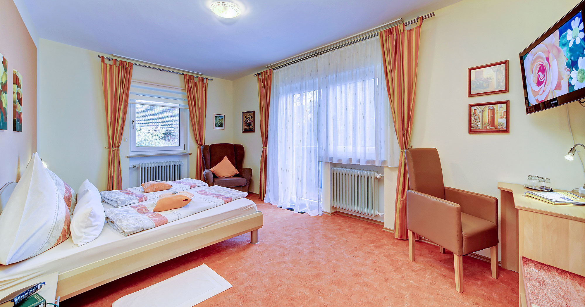 Pension mit Gästezimmer in Drachselsried